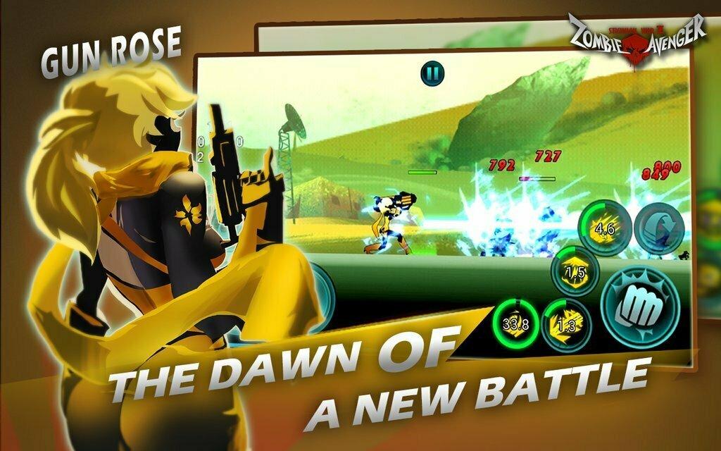 Zombie Avengers: Stickman War Z