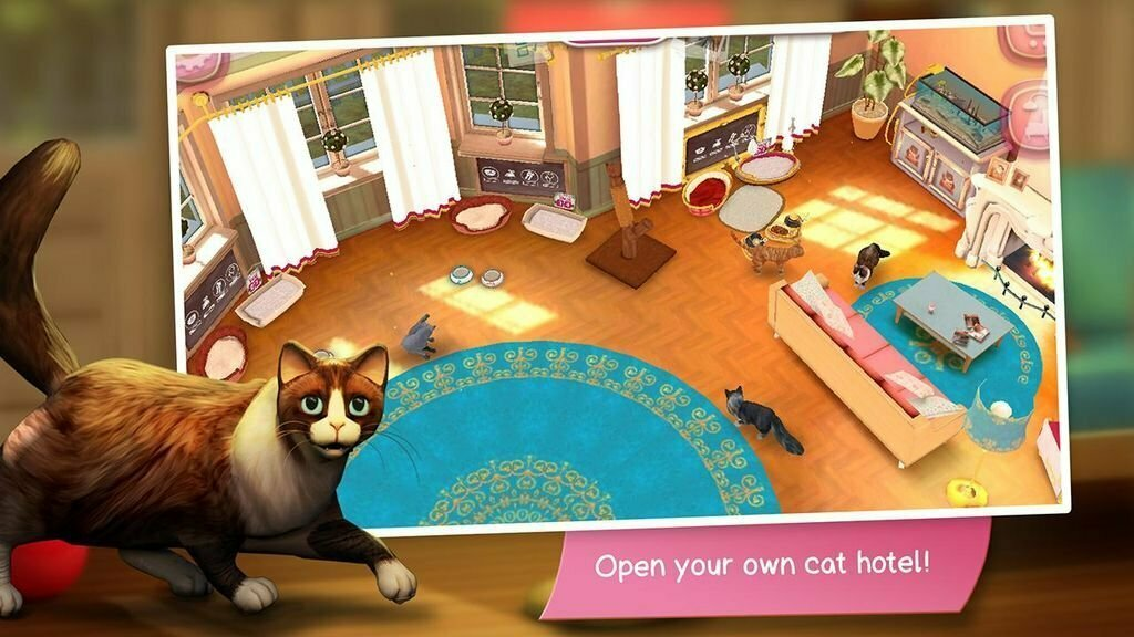 CatHotel: Hotel for Cute Cats