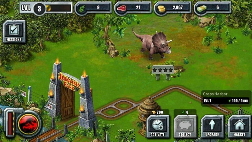 Jurassic Park 3: Park Builder