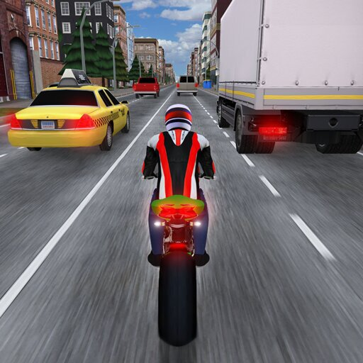 Race the Traffic Moto FULL